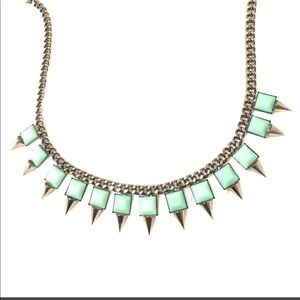 Bar III   Spiked Necklace